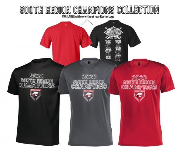OFFICIAL 2020 SOUTH REGION CHAMPIONSHIP TEE COLLECTION by PACER