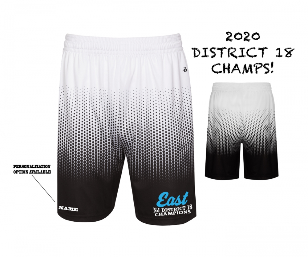 2020 TRELL DISTRICT 18 CHAMPIONS HEX SHORTS by PACER