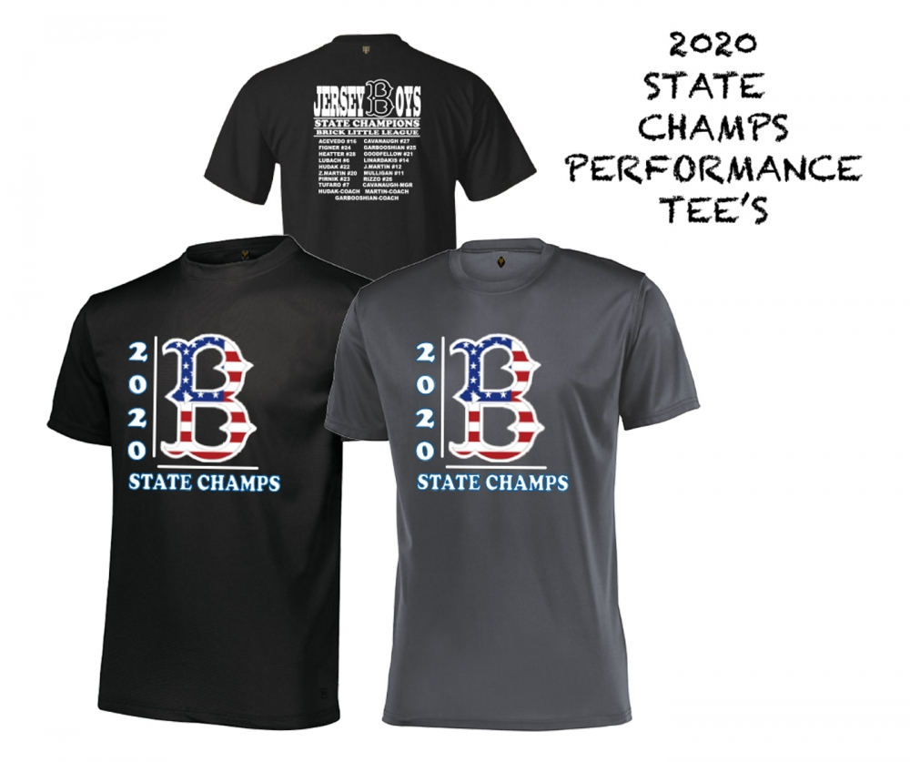 2020 BLL 12yr OLD STATE CHAMPIONSHIP ROSTER TEE by PACER