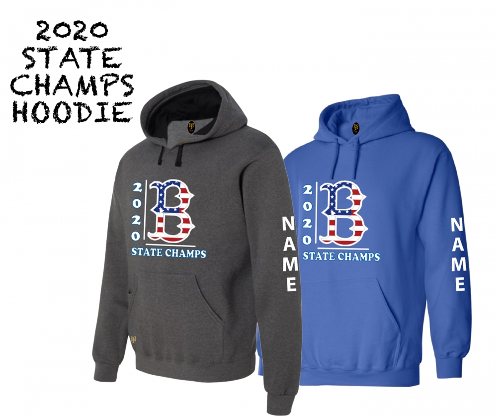 2020 BLL STATE CHAMPIONSHIP STARS & STRIPES HOODIE by PACER