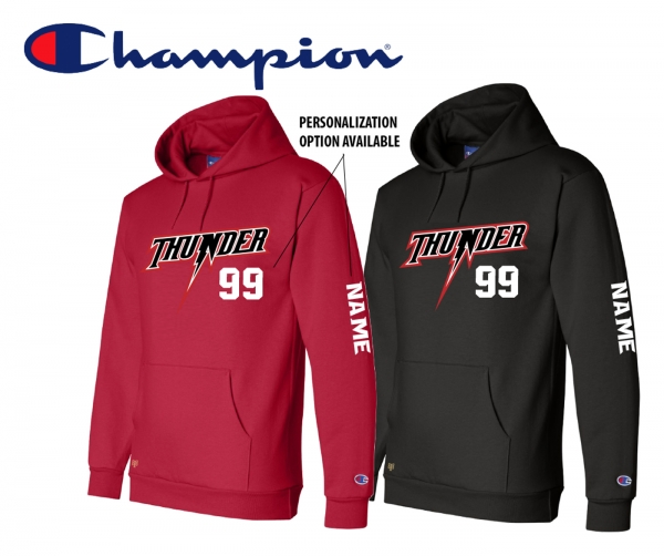 NEW for 2021 SEASON - CHAMPION THUNDER PLAYER FLEECE PULL-OVER HOODIE by PACER