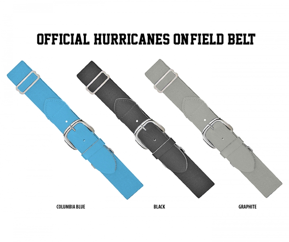 HURRICANES OFFICIAL ON-FIELD BELT COLLECTION by PACER