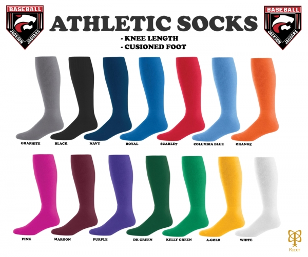 JAGUARS OFFICIAL KNEE-HI ATHLETIC SOCKS by PACER