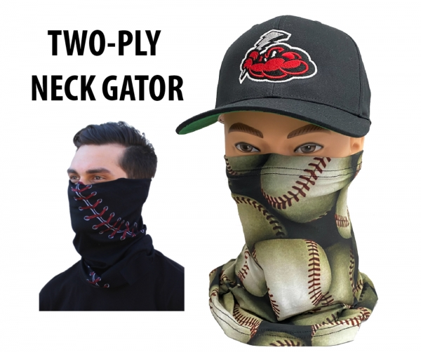 SUBLIMATED WASHABLE NECK GATORS by PACER