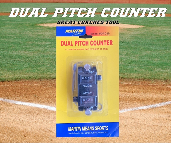 DUAL PITCH COUNTER by Pacer