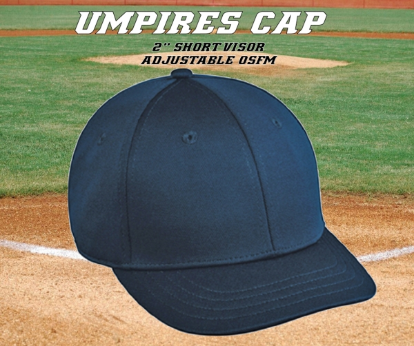 DELUXE UMPIRES ADJUSTABLE CAP by PACER