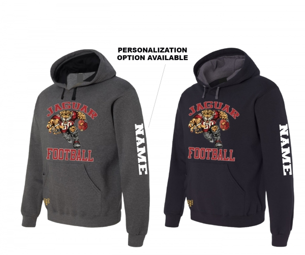 2019 JMHS FOOTBALL HD MASCOT PULL-OVER FLEECE HOODIE by PACER