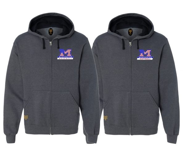 MLL OFFICIAL STARS & STRIPES FULL ZIP HOODED JACKETS by PACER