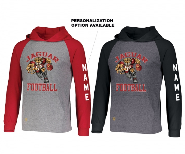 2019 JMHS FOOTBALL HD MASCOT LIGHTWEIGHT PULL-OVER HOODIE SHIRTS by PACER
