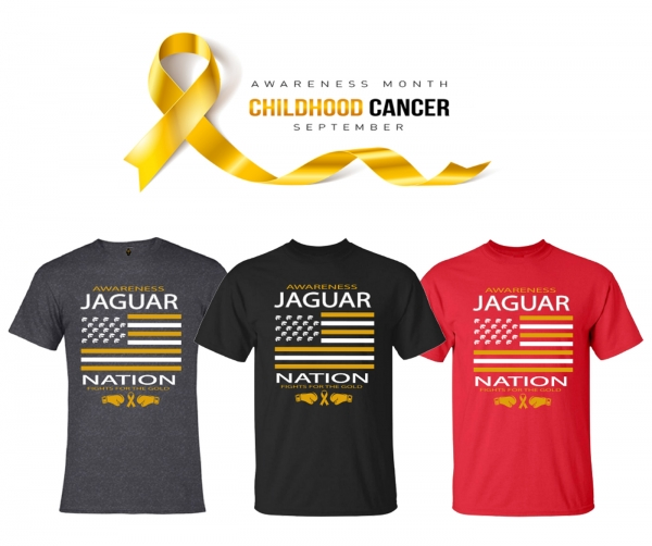 JMHS JAGUAR NATION-CHASE RYAN OLSEN FOUNDATION TEE COLLECTION by PACER