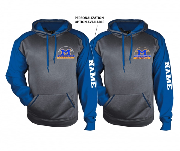 MLL OFFICIAL PREMIUM PERFORMANCE FLEECE PULL-OVER HOODIE by PACER
